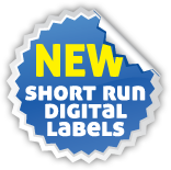 short run digital label printing services